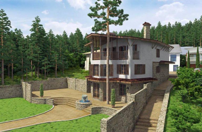 загородный дом, дача в ялте