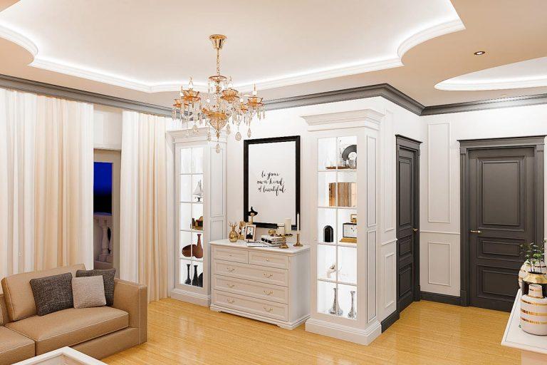 white neoclassic interior gomel belarus